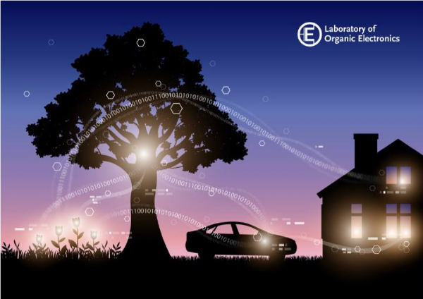 Trees-that-ue-electronic-circuits